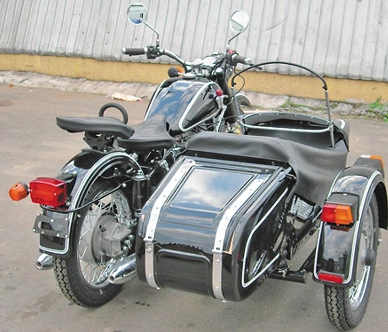 Тюнинг мотоцикла урал с коляской своими руками 42